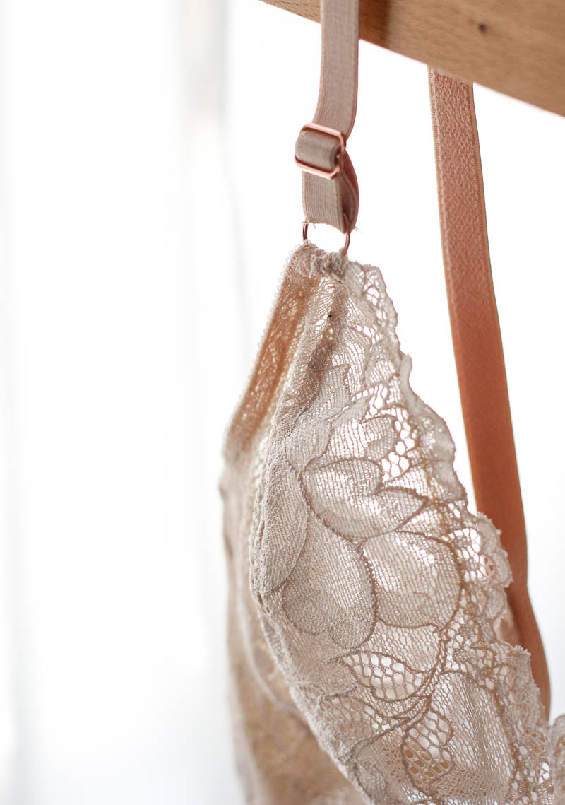 Close up of Lace Watson Bra