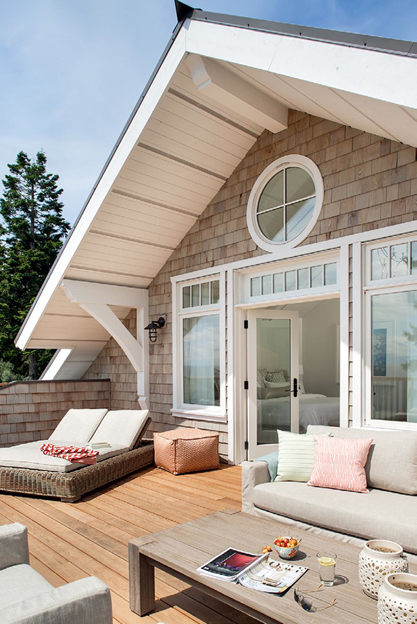 Coastal Cottage via One Kind Design