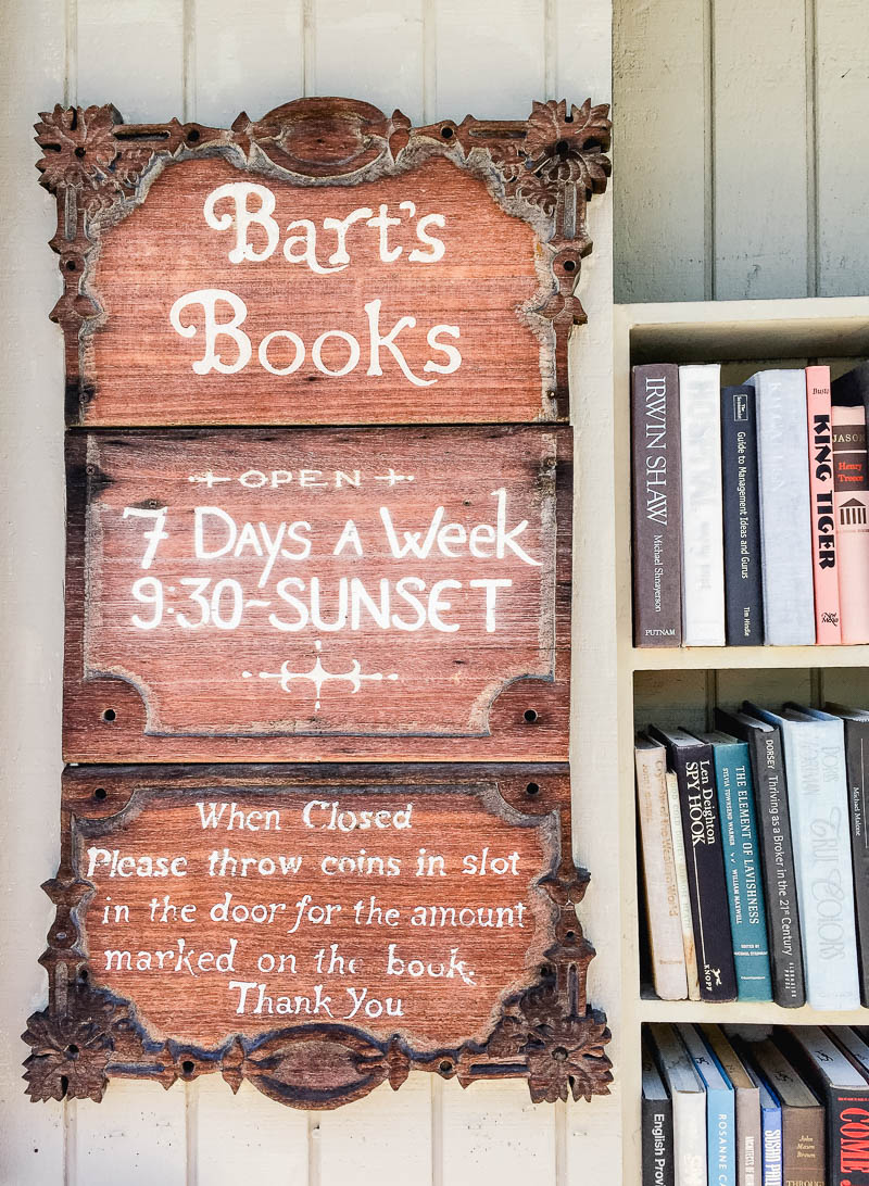 Bart's Books in Ojai California