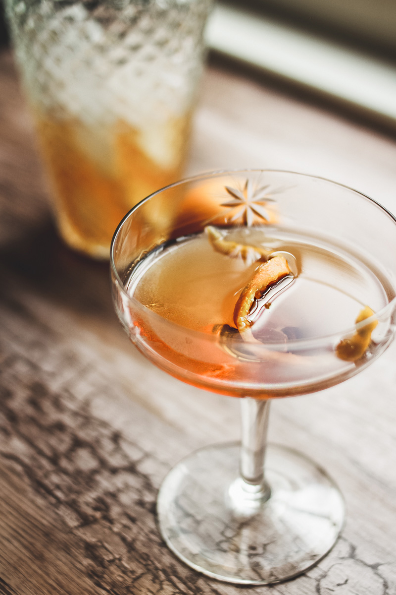 bourbon cocktail recipe shaker spoon