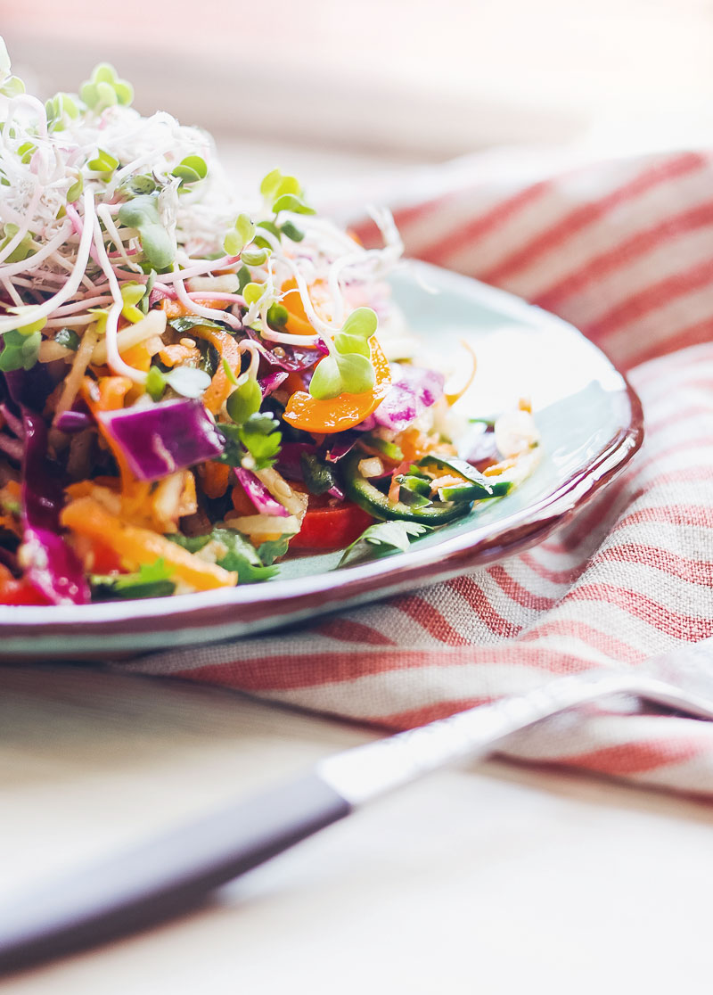 vegetable noodle salad very sarie