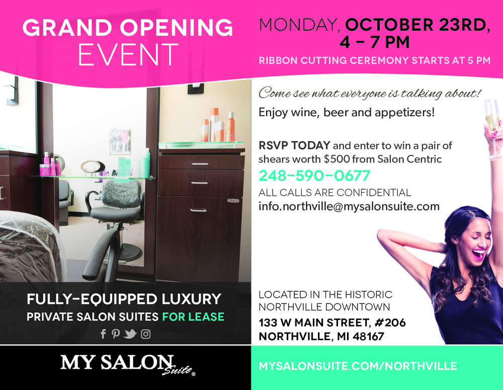 GRAND OPENING October 23rd Ribbon Cutting At 500 PM
