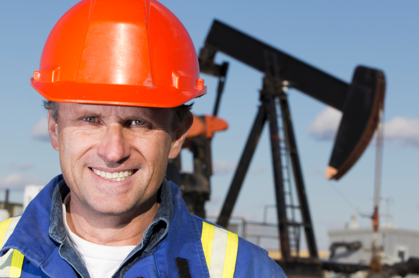Oil Worker and Drilling