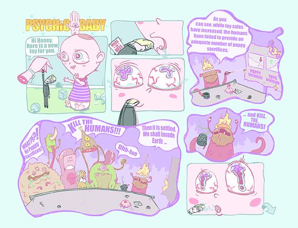Psychic Baby pg. 1