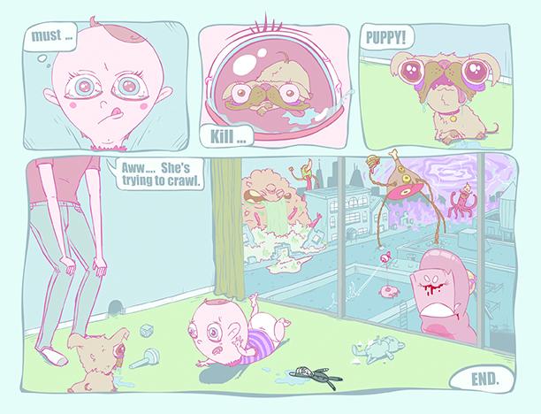 Psychic Baby pg. 2
