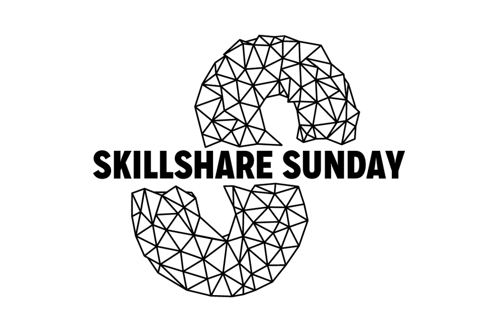 Skillshare Sunday 1 color version