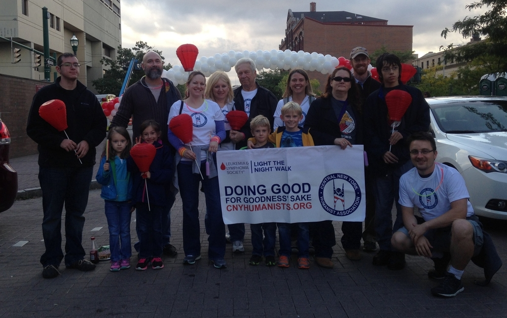 Our Team at the Light the Night Walk 2014