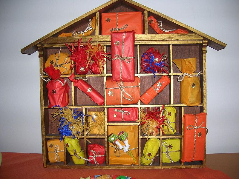An Advent Calendar. Credit:    Andrea Schaufler CC BY 2.5