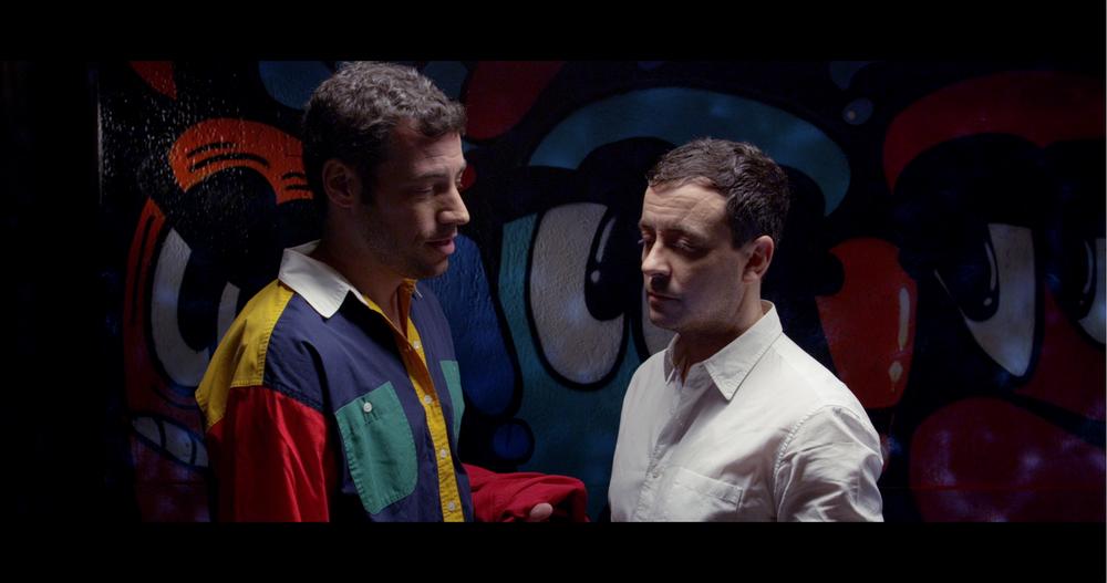 TÚ. YO. BAÑO. SEXO. AHORA. a film by Francisco Lupini Basagoiti  Starring Miguel Belmonte, Puy Navarro, Francisco Fuertes, Bautista Duarte and Mauricio Pita.