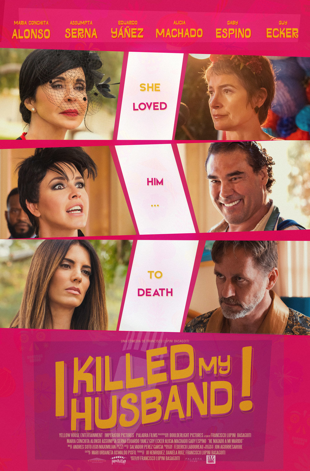 he matado a mi marido I killed my husband