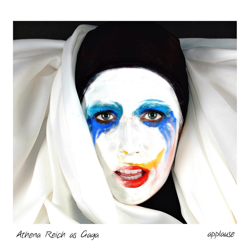 Athena as Gaga in Artpop