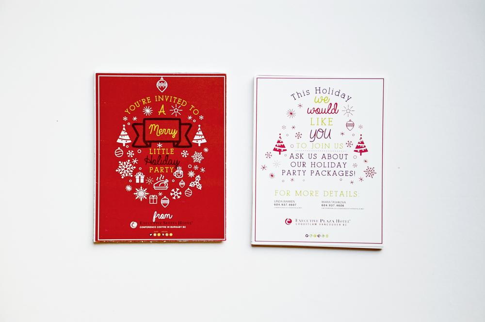 Executive Hotels And Resort Burnaby Christmas Postcards.jpg