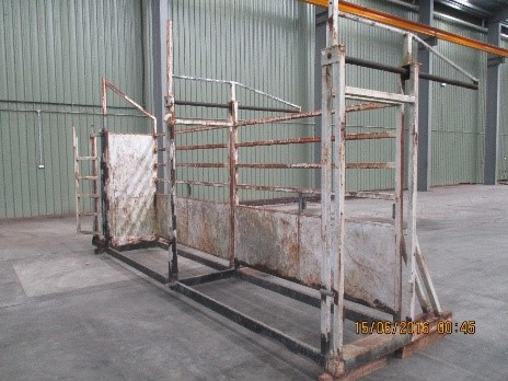 Stroud Rodeo Bull Pen Galvanizing