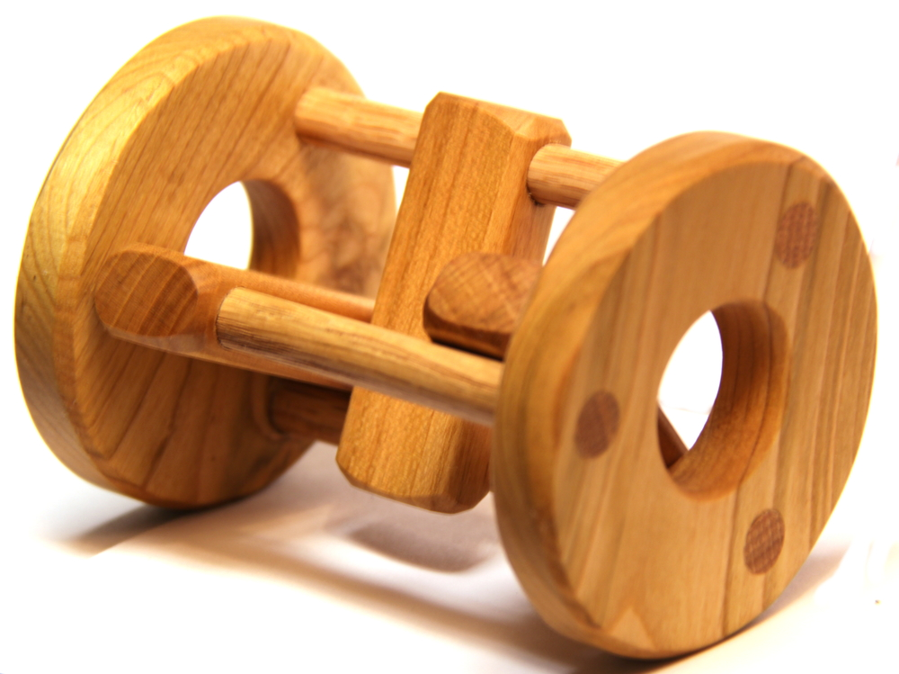 $18.00 Wooden Rattle