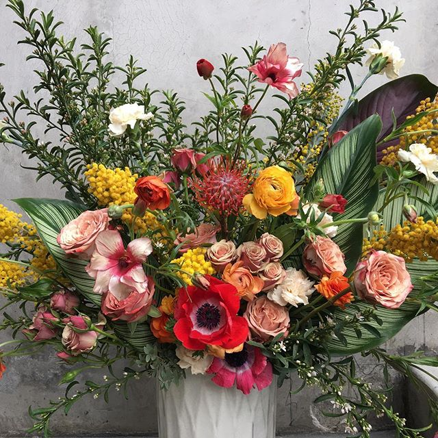 We had a great time making these fleurs for @theranchlb a few weeks ago! #fourleafcloverstudio