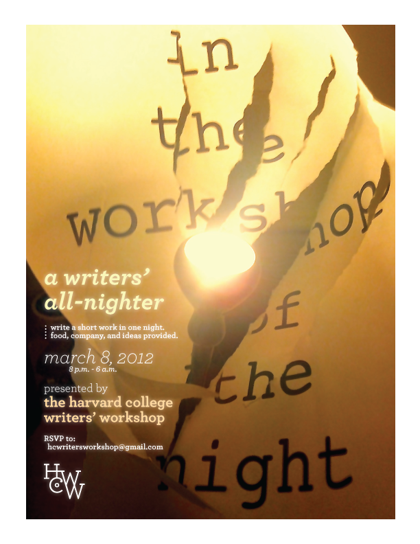 In the Workshop of the Night Spring 2012 Poster