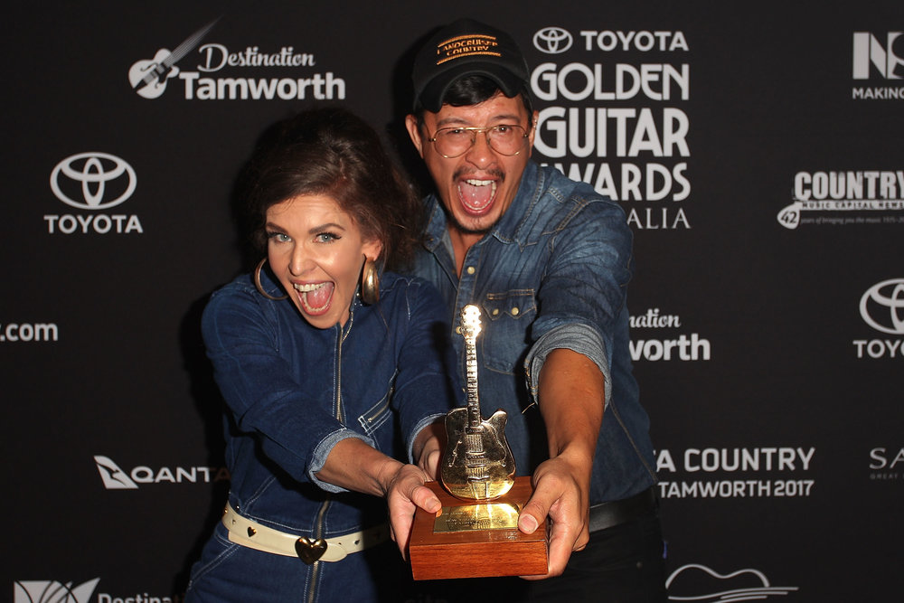 W atch when we won it and our performance at the Golden Guitar awards HERE!