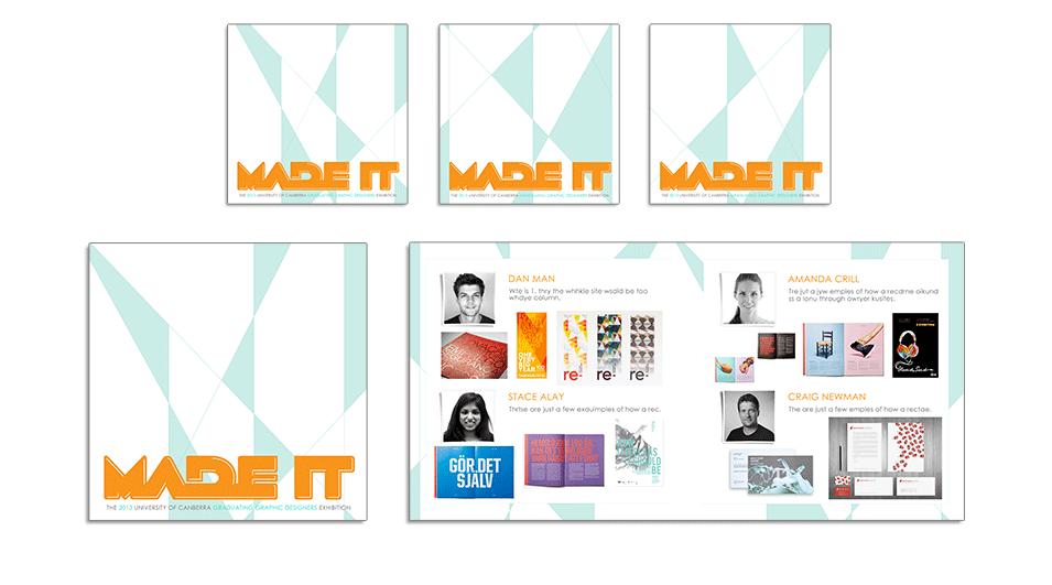 Exhibition Catalogue Design