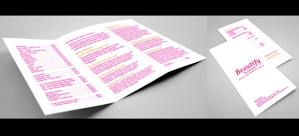 Basic Brochure Design