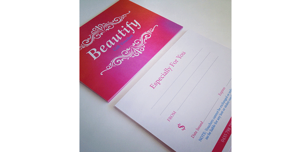 Beautify Gift Vouchers