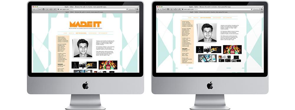 Exhibition Website Design
