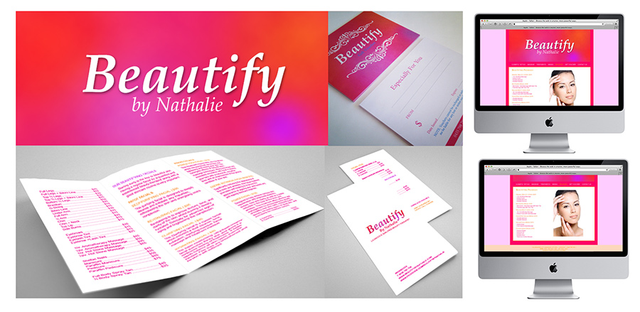 Beauty Therapy Branding