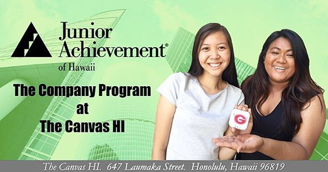 Don't forget to come to the Canvas this FRIDAY, 5pm on February 12, for an introductory meeting about the Junior Achievement Program. This is an amazing program to be a part of if you are interested in business. Bring your friends and I hope you can come!