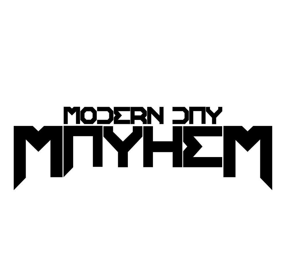 Modern Day Mayhem 2014 logo (Black).jpg