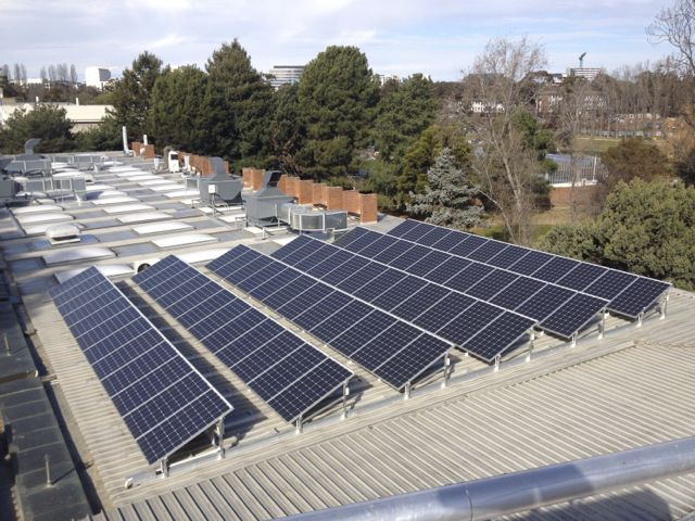 The Frank Fenner Building Solar Array Production V