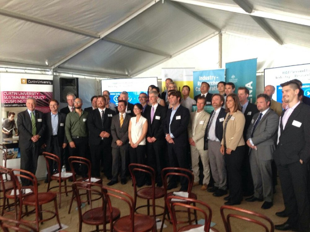 Members of the successful ARENA projects - who is that handsome guy front right? ;-)