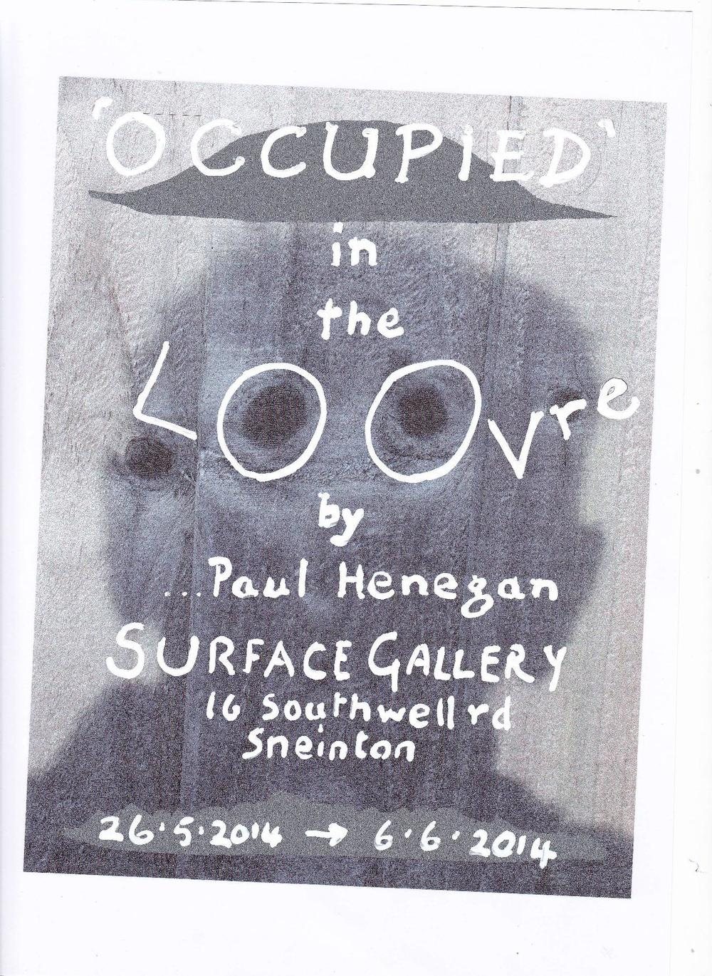 Occupied by Paul Henegan