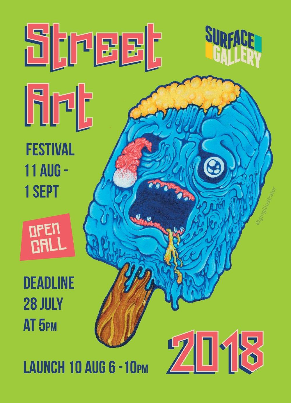 street art festival 2018 surface gallery