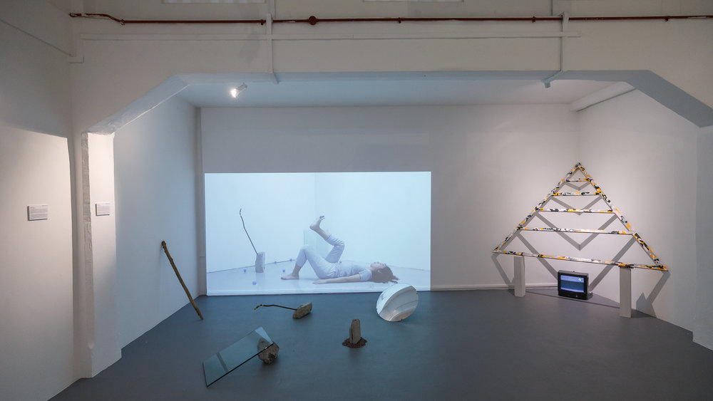 Installation view of 2018 UNTAPPED