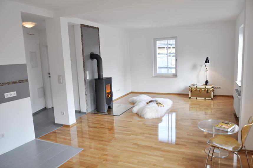 Lofts in der Design Fabrik Frankfurt am Main — Etagenwohnung 60qm