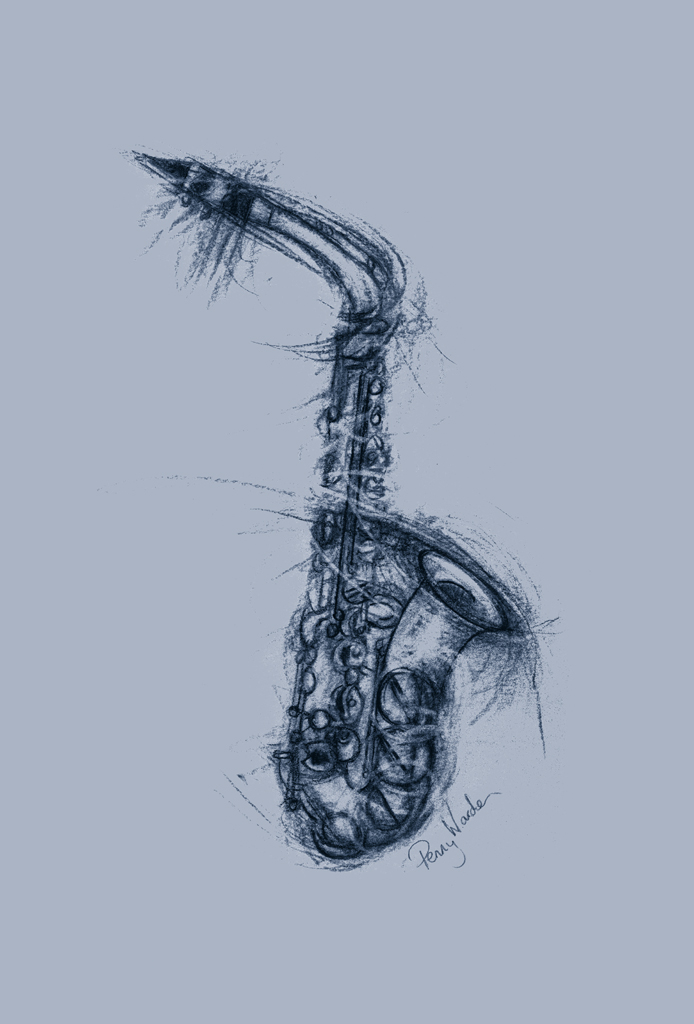 PW Sax-Blue