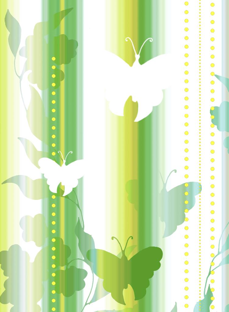 Meystyle Green Butterfly