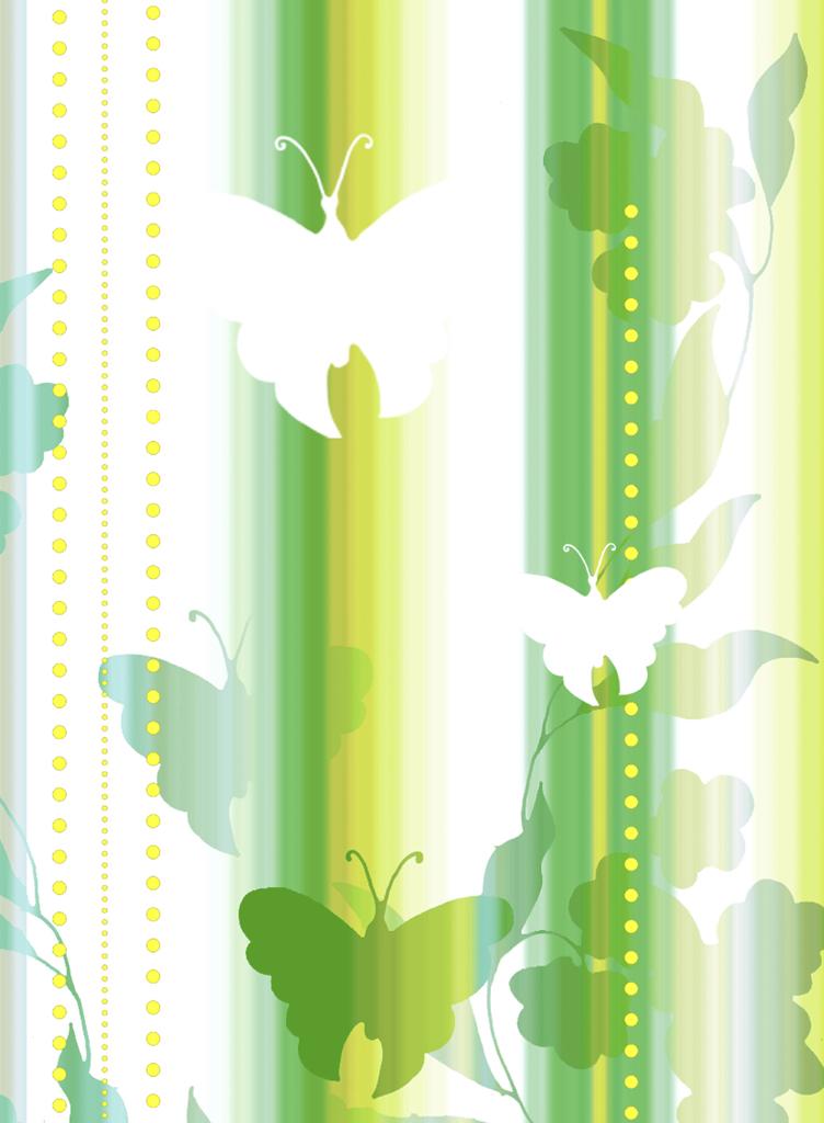 Meystyle Green Butterfly 2