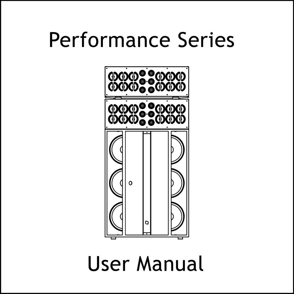 Artcoustic Loudspeakers Performance Series Manual