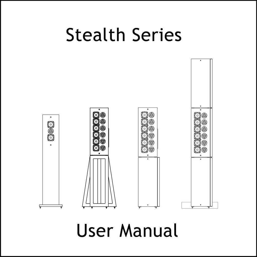 Artcoustic Loudspeakers Stealth Series Manual