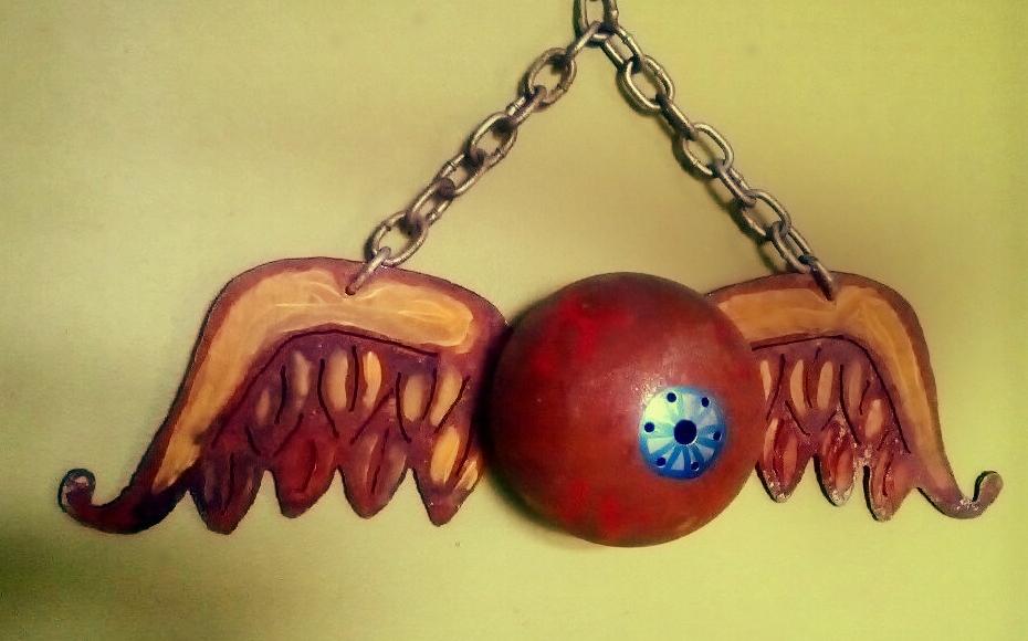 flying eyeball