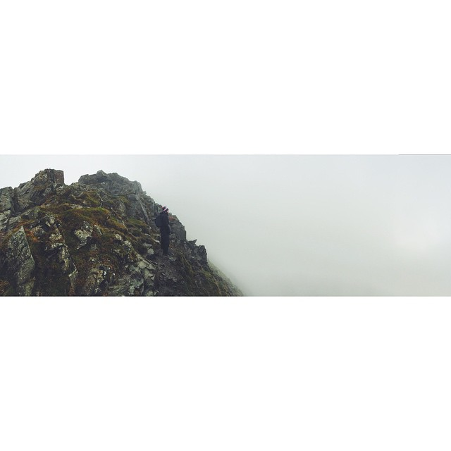 Mountain mist. #mountains #northface #climbers