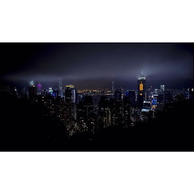 Hong Kong. The Peak. #hongkong #thepeak