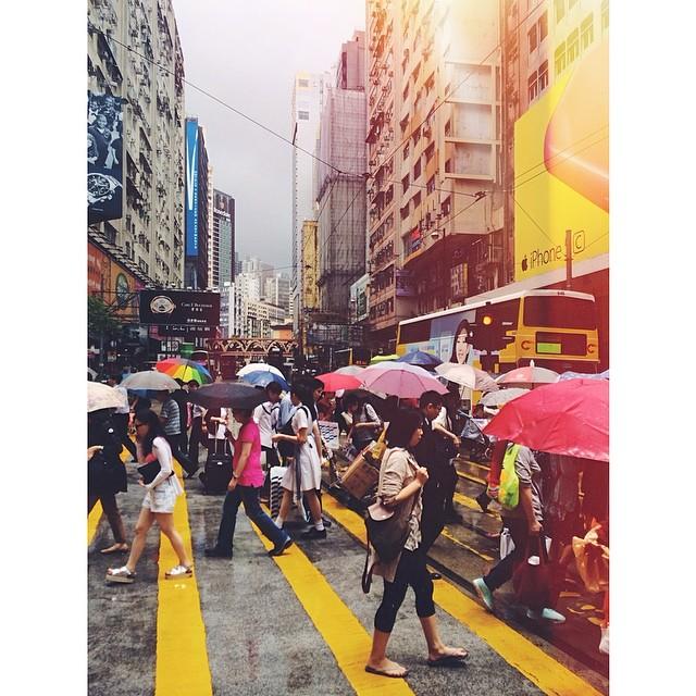Hong Kong Umbrellas. #hongkong #hk #china #umbrellas