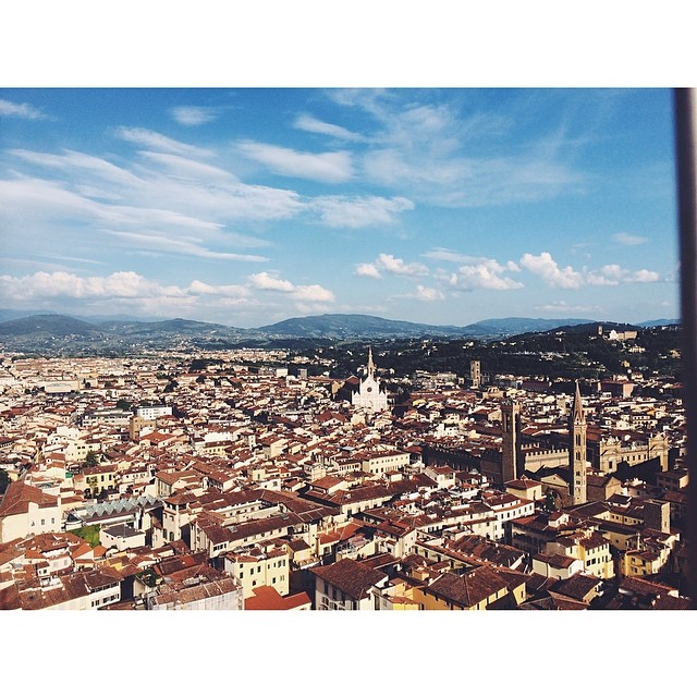 Florence. #italy #florence #clocktower