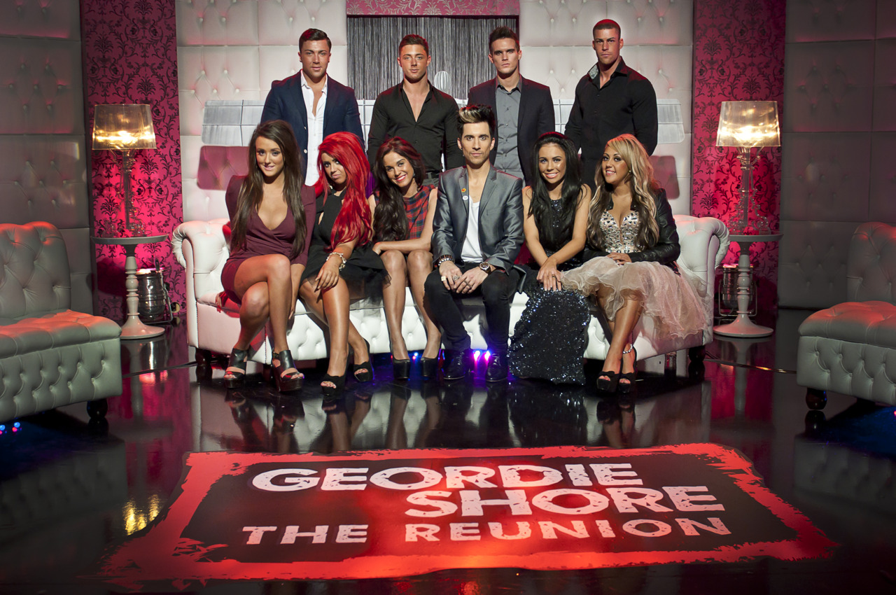 I recently shot some images on set of the Geordie Shore Series 2 Reunion show.