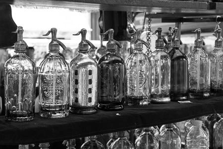 Seltzer bottles San Telmo, BA