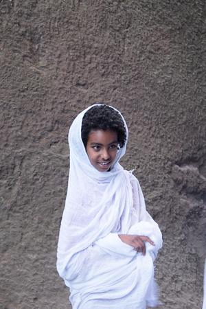 Young celebrant, Lalibela