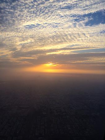 Sunset over Jeddah