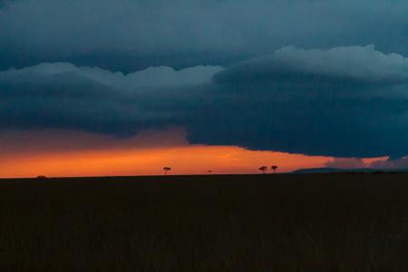 Sunset, Maasai Mara