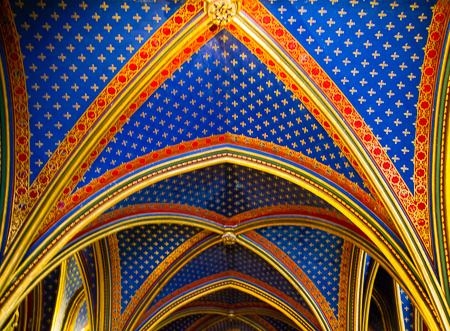 Ceiling – Sainte-Chapelle